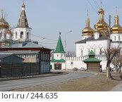 Купить «Тюмень. Мужской монастырь», фото № 244635, снято 7 апреля 2008 г. (c) Дюнин Владислав / Фотобанк Лори