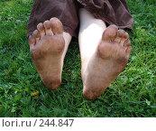 Купить «Грязные пятки», фото № 244847, снято 20 мая 2007 г. (c) maruta bekina / Фотобанк Лори