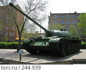 Танк Т-54 А (2007 год). Редакционное фото, фотограф RuS / Фотобанк Лори
