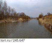 Купить «Вешние воды, Уссури», фото № 245647, снято 6 апреля 2008 г. (c) Олег Рубик / Фотобанк Лори