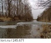 Купить «Последний лед», фото № 245671, снято 6 апреля 2008 г. (c) Олег Рубик / Фотобанк Лори