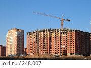 Купить «Новостройки Балашиха», эксклюзивное фото № 248007, снято 2 апреля 2008 г. (c) Дмитрий Неумоин / Фотобанк Лори