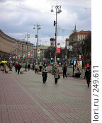 Купить «Киев.Крещатик», фото № 249611, снято 15 августа 2018 г. (c) Наталья Ткаченко / Фотобанк Лори