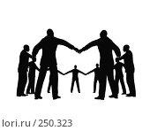 Купить «Круг деловых людей», иллюстрация № 250323 (c) Losevsky Pavel / Фотобанк Лори