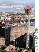 Купить «Вид с колоннады Исаакиевского собора. Ремонтные работы», фото № 251659, снято 21 октября 2007 г. (c) Наталья Чуб / Фотобанк Лори