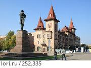 Купить «Саратовская консерватория», фото № 252335, снято 30 сентября 2007 г. (c) Игорь Романов / Фотобанк Лори