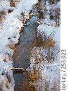 Купить «Речка Егошиха, на берегах которой был построен завод, ставший началом Перми», фото № 253023, снято 26 марта 2008 г. (c) Harry / Фотобанк Лори