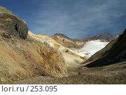 Купить «В кратере вулкана Мутновский, каньон Опасный. Камчатка», фото № 253095, снято 10 октября 2006 г. (c) Ирина Игумнова / Фотобанк Лори