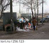 Купить «Мусорные контейнеры, микрорайон «1 Мая», Балашиха, Московская область», эксклюзивное фото № 256123, снято 31 марта 2008 г. (c) lana1501 / Фотобанк Лори