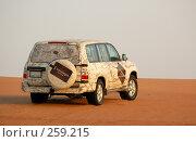 Купить «Джип в пустыне», фото № 259215, снято 2 июня 2006 г. (c) Андрей Хохлов / Фотобанк Лори