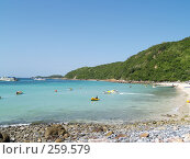 Купить «Морской пейзаж. Сиамский залив», фото № 259579, снято 18 августа 2007 г. (c) Примак Полина / Фотобанк Лори