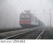 Купить «Поезд», фото № 259663, снято 9 апреля 2008 г. (c) Andrey M / Фотобанк Лори