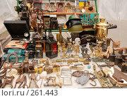 Купить «Старинные и антикварные предметы на развале», фото № 261443, снято 13 апреля 2008 г. (c) Дмитрий Яковлев / Фотобанк Лори