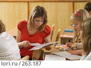 Купить «На уроке. Мгновение из жизни старшеклассников», фото № 263187, снято 26 апреля 2008 г. (c) Федор Королевский / Фотобанк Лори