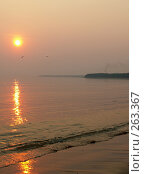 Купить «Закат над морем», фото № 263367, снято 3 мая 2006 г. (c) Тарановский Д. / Фотобанк Лори