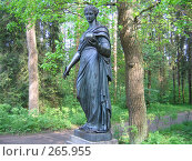 Купить «Статуя Музы в Павловском парке», фото № 265955, снято 27 мая 2007 г. (c) Морковкин Терентий / Фотобанк Лори