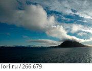 Облако над островом Белл (Земля Франца-Иосифа) Стоковое фото, фотограф Ярослав Никитин / Фотобанк Лори