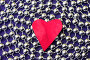 Красное сердечко, фото № 267003, снято 29 мая 2017 г. (c) Ольга С. / Фотобанк Лори