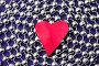 Красное сердечко, фото № 267003, снято 18 января 2017 г. (c) Ольга С. / Фотобанк Лори