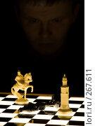 Проигрыш в шахматах. Стоковое фото, фотограф Рыбин Павел / Фотобанк Лори