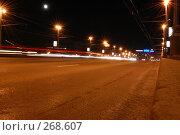 Ночная дорога (2008 год). Редакционное фото, фотограф Недорез Александр / Фотобанк Лори