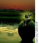 Купить «По заливу бродят феи», иллюстрация № 269019 (c) Андреева Екатерина / Фотобанк Лори
