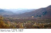 Купить «Горная долина весной на Сахалине», фото № 271187, снято 2 мая 2008 г. (c) RedTC / Фотобанк Лори