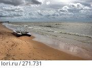 Купить «Морской берег», фото № 271731, снято 17 августа 2018 г. (c) Катыкин Сергей / Фотобанк Лори