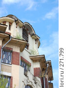 Купить «Крыша дома», фото № 271799, снято 20 апреля 2008 г. (c) Недорез Александр / Фотобанк Лори