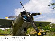 Купить «Ракурс самолёта АН-2», фото № 272083, снято 1 мая 2008 г. (c) Борис Панасюк / Фотобанк Лори
