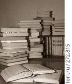 Купить «Много старых книг», фото № 272815, снято 11 мая 2007 г. (c) Морозова Татьяна / Фотобанк Лори