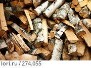 Купить «Дрова», фото № 274055, снято 25 сентября 2018 г. (c) Куракевич Иван / Фотобанк Лори