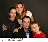 Купить «Семья», фото № 274227, снято 26 января 2008 г. (c) Морозова Татьяна / Фотобанк Лори