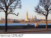 Купить «На Дворцовой набережной Невы. Санкт-Петербург», эксклюзивное фото № 276427, снято 5 ноября 2007 г. (c) Александр Алексеев / Фотобанк Лори