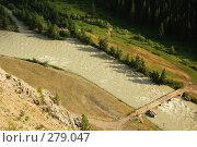 Купить «Мост через реку Чую. Горный Алтай», фото № 279047, снято 6 июля 2006 г. (c) Селигеев Андрей Иванович / Фотобанк Лори