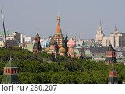 Купить «Собор Василия Блаженного», фото № 280207, снято 8 мая 2008 г. (c) Антон Белицкий / Фотобанк Лори