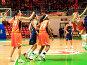 Женский баскетбол. Атака, фото № 281315, снято 20 февраля 2017 г. (c) Сергей Лебедев / Фотобанк Лори
