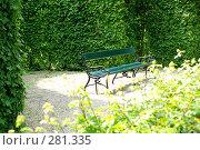 Купить «Скамья», фото № 281335, снято 5 мая 2008 г. (c) Лифанцева Елена / Фотобанк Лори