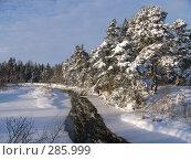 Река зимой. Стоковое фото, фотограф Комоедова Зоя Николаевна / Фотобанк Лори