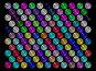 Фон из разноцветных стеклянных шариков, фото № 286355, снято 23 августа 2017 г. (c) Владимир Сергеев / Фотобанк Лори