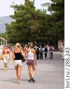 Купить «Отдыхающие, г. Геленджик», фото № 288243, снято 4 сентября 2007 г. (c) Андрей Андреев / Фотобанк Лори