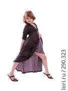Купить «Маленькая модель», фото № 290323, снято 13 апреля 2007 г. (c) Гладских Татьяна / Фотобанк Лори