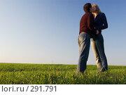 Купить «Поцелуй в поле», фото № 291791, снято 12 апреля 2008 г. (c) Арестов Андрей Павлович / Фотобанк Лори