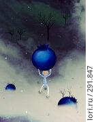 Купить «Черничные запасы», иллюстрация № 291847 (c) Андреева Екатерина / Фотобанк Лори