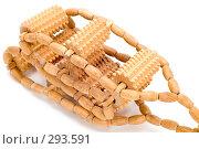 Купить «Деревянный массажер», фото № 293591, снято 17 мая 2008 г. (c) Угоренков Александр / Фотобанк Лори