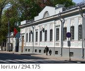 Купить «Посольство Тунисской Республики. Старинный особняк», фото № 294175, снято 3 мая 2008 г. (c) urchin / Фотобанк Лори