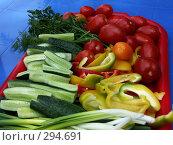 Купить «Овощной натюрморт», фото № 294691, снято 20 мая 2008 г. (c) Хижняк Сергей / Фотобанк Лори
