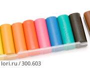 Купить «Разноцветный пластилин», фото № 300603, снято 25 мая 2008 г. (c) Угоренков Александр / Фотобанк Лори