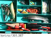 Купить «Набор рыбака», фото № 301387, снято 24 мая 2008 г. (c) Nelli / Фотобанк Лори