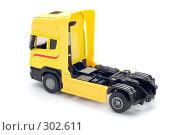 Купить «Желтый грузовик», фото № 302611, снято 27 мая 2008 г. (c) Угоренков Александр / Фотобанк Лори